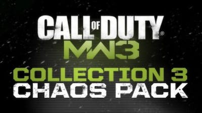 Call of Duty: Modern Warfare 3 Collection 3: Chaos Pack DLC