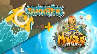 PixelJunk™ Monsters Ultimate + Shooter Bundle