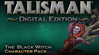 Talisman - Character Pack #7 - Black Witch