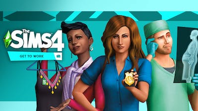 The Sims 4 Get To Work - DLC