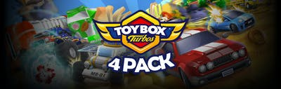 Toybox Turbos 4 Pack