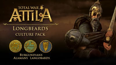 Total War: ATTILA - Longbeards Culture Pack DLC