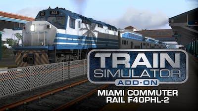 Train Simulator: Miami Commuter Rail F40PHL-2 Loco Add-On - DLC