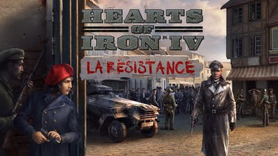 Hearts of Iron IV: La Résistance - DLC
