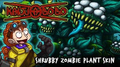 Kaiju-A-GoGo: Plant Zombie Shrubby Skin DLC