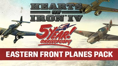 Hearts of Iron IV: Eastern Front Planes Pack - DLC