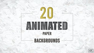 20 Animated Paper Backgrounds
