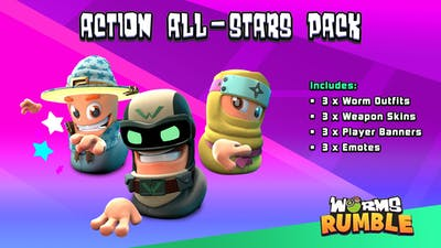 Worms Rumble - All Stars Pack - DLC