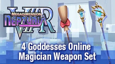 Megadimension Neptunia VIIR - 4 Goddesses Online Magician Weapon Set