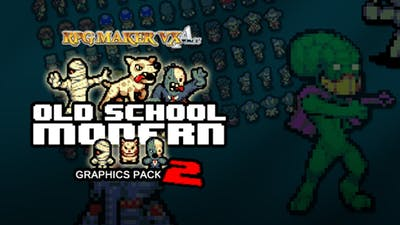 RPG Maker: Old School Modern 2 Resource Pack DLC
