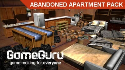 GameGuru - Abandoned Apartment Pack