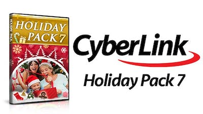 Holiday Pack 7 for CyberLink PowerDirector