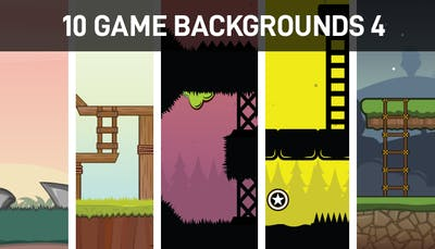 10 Game Backgrounds 4
