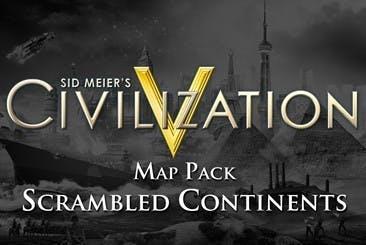 Sid Meier's Civilization V: Scrambled Continents Map Pack DLC