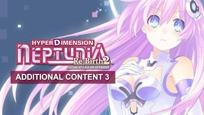 Hyperdimension Neptunia Re;Birth2 Additional Content Pack 3 DLC