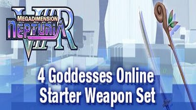 Megadimension Neptunia VIIR - 4 Goddesses Online Starter Weapon Set - DLC