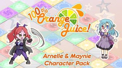 100% Orange Juice - Arnelle & Maynie Character Pack