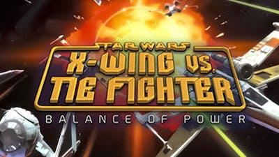 STAR WARS X-Wing vs TIE Fighter