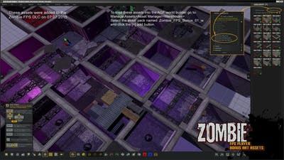 Axis Game Factory's AGFPRO Zombie FPS Player DLC | Linux Mac PC