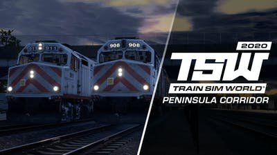 Train Sim World: Peninsula Corridor: San Francisco - San Jose Route Add-On - DLC