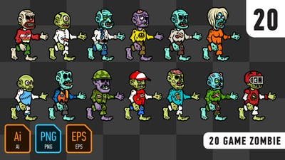 20 Game Zombie