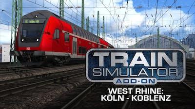 Train Simulator: West Rhine: Köln - Koblenz Route Add-On - DLC