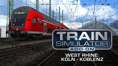 Train Simulator: West Rhine: Köln - Koblenz Route Add-On