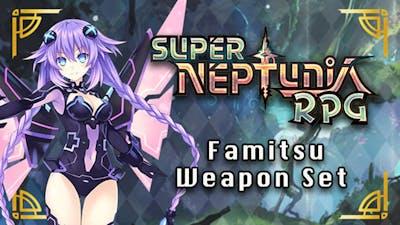 Super Neptunia RPG - Famitsu Weapon Set DLC