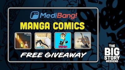 The Big Story Weekend Medibang Mammoth Manga Comics Giveaway