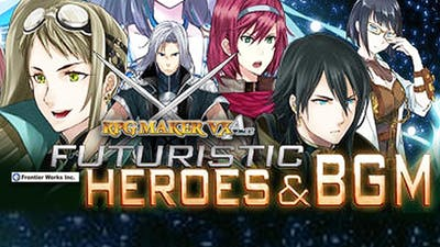 RPG Maker VX Ace: Frontier Works Futuristic Heroes and BGM DLC