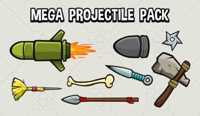 Mega Projectile Pack
