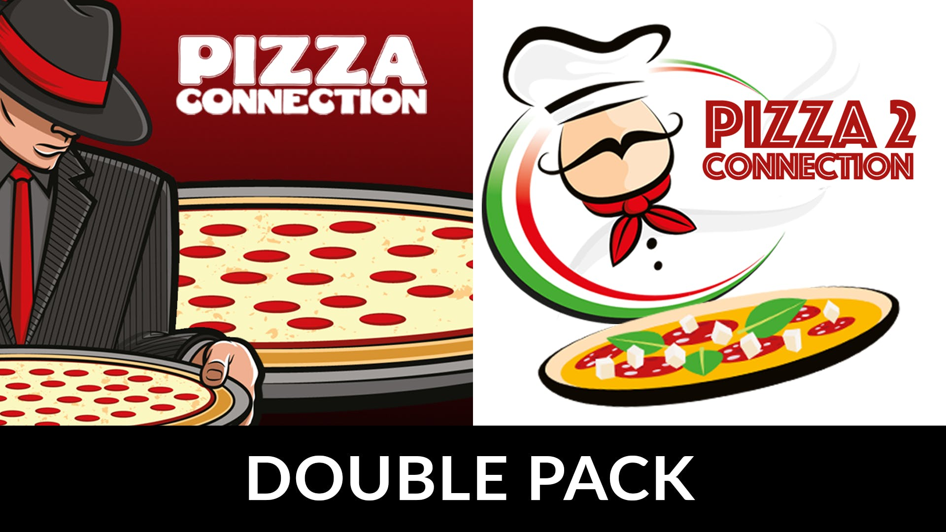 Pizza Connection 1 and 2 Double Pack