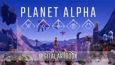 PLANET ALPHA - Digital Artbook - DLC