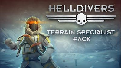 HELLDIVERS - Terrain Specialist Pack - DLC