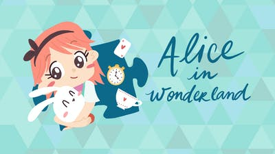 Alice in Wonderland - a jigsaw puzzle tale