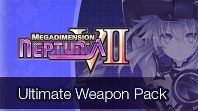 Megadimension Neptunia VII Ultimate Weapon Pack DLC