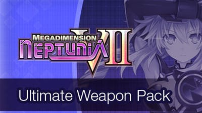 Megadimension Neptunia VII Ultimate Weapon Pack DLC