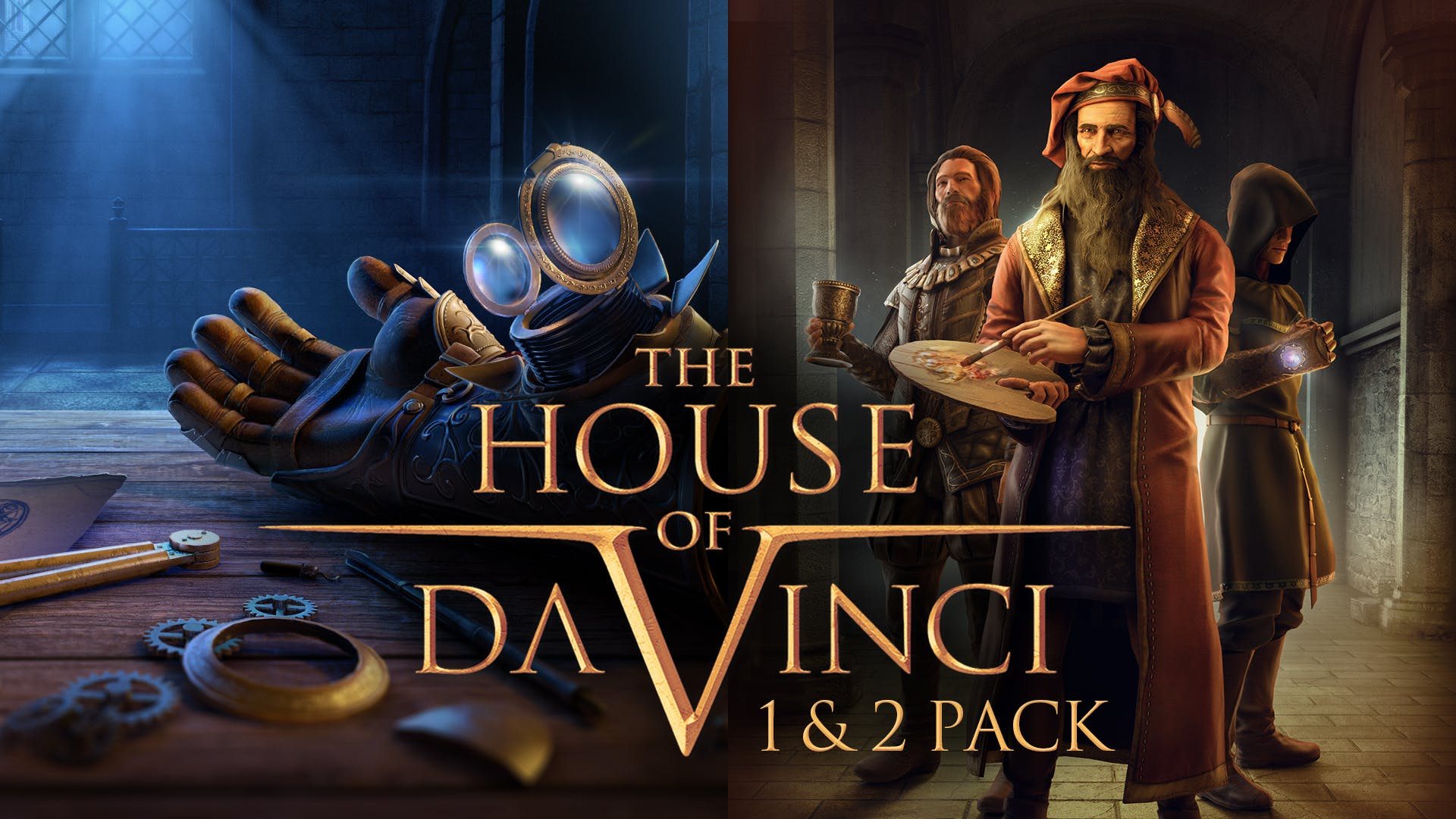 The House of Da Vinci 1 + 2 Pack