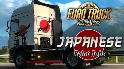 Euro Truck Simulator 2 - Japanese Paint Jobs Pack DLC