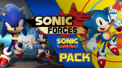 Image result for sonic mania forces bundle