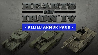 Hearts of Iron IV: Allied Armor Pack - DLC