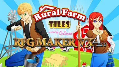 RPG Maker VX Ace: Rural Farm Tiles Resource Pack DLC