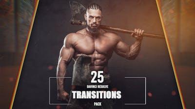 25 DaVinci Resolve Transitions Pack