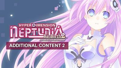 Hyperdimension Neptunia Re;Birth2 Additional Content Pack 2 DLC