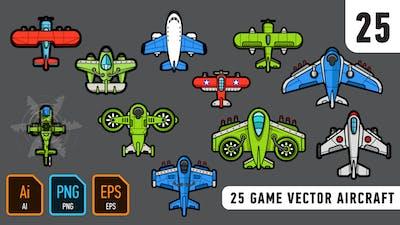 25 Game Vector Aircraft