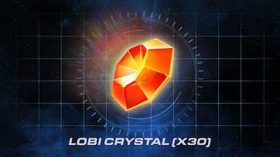 30 Lobi Crystals