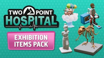 Two Point Hospital: Exhibition Items Pack - DLC