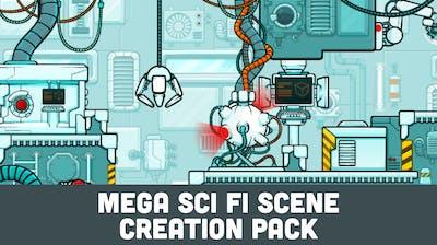 Mega Sci Fi Scene Creation Pack
