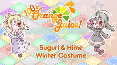 100% Orange Juice - Suguri & Hime Winter Costumes - DLC
