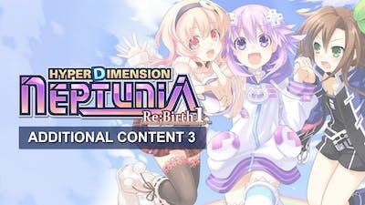 Hyperdimension Neptunia Re;Birth1 Additional Content3 DLC